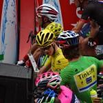 Sagan et Froome au départ